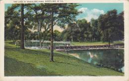 West Virginia Wheeling The Lakes At Wheeling Park 1933