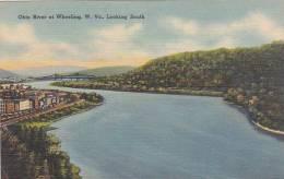 West Virginia Wheeling Ohio River At Wheeling Looking South Artv