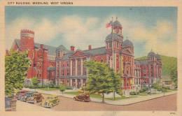West Virginia Wheeling City Building Artvue 1944