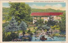West Virginia Wheeling The Rock Garden Wheeling Park Artvue 1941