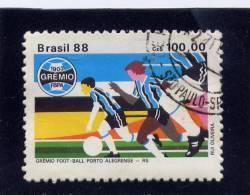 BRAZIL. 1988, # 2148 USED, SOCCER CLUBS,      USED - Brésil