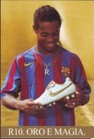 Ronaldino  Barcellona Calcio - Voetbal