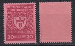 D.R.Nr.204b,postfrisch,gep.   - Germany