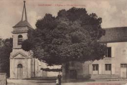 // 89 SAINT - MORE - L´ EGLISE ET L´ ECOLE COMMUNALE - France