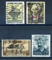 ITALY - TRIESTE 4 VALUES - V6156 - 7. Trieste