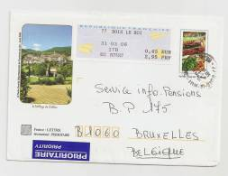 - 116 A - LE VILLAGE DE CALLAS - Documents Of Postal Services