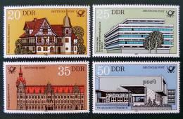 BATIMENTS POSTAUX 1982 - NEUFS ** - YT 2326/29 - MI 2673/76 - [6] République Démocratique