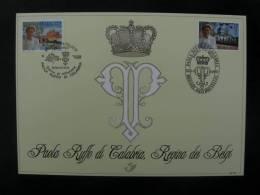 België 1997 2706HK Gemeenschappelijke Met Italië - Cartoline Commemorative