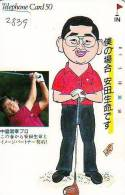 Télécarte Japon * TELEFONKARTE JAPAN * GOLF  * (2839) *  SPORT * PHONECARD * - Sport