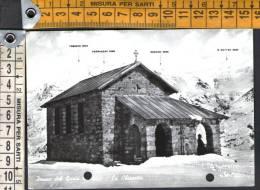 E1376 Passo Del Gavia - La Chiesetta - Timbro Rifugio, Hutte, A. Berni / Viaggiata 1963 - Altre Città