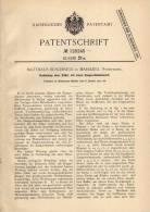 Original Patentschrift - M. Buschnigg In Mariazell , Steiermark , 1901 , Zither Mit Zungenstimmwerk !!! - Musikinstrumente