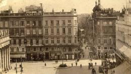 BORDEAUX - GIRONDE - PEU COURANTE CPA ANIMEE. - Bordeaux