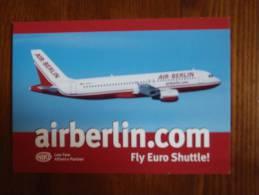 Air-Berlin Airlines Carte Postale - 1946-....: Moderne