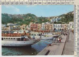 Capri - Napoli - Il Porto - Barche  Navi  Traghetto  Viaggiata - Napoli