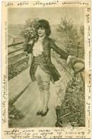 SWITZERLAND 1899 H Kuchler Gluck Und Gruss U/B Postcard Used - Schweiz