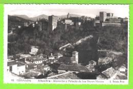 GRANADA / ALHAMBRA / ALCAZAR Y PALACIO DE LOS REYES MOROS  / Tarjeta Virgen - Granada