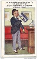 SERIE COMIQUE N° 3860. FLORENCE HOUSE, BARNES, LONDON. REF 8427 - Autres Illustrateurs