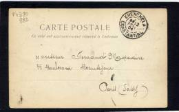 CAD / 111  KHENCHELA   CONSTANTINE - Algeria (1924-1962)