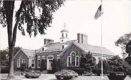 Maine Sanford Louis B Goodall Memorial Library