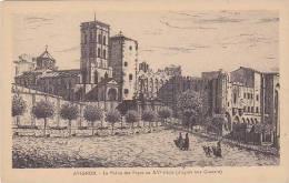France Avignon Le Palais des Papes au XV siecle