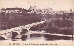 France Avignon Le Pont Villeneuve et le Palais des Papes