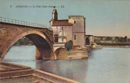 France Avignon Le Pont Saint Benezet