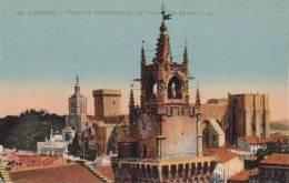 France Avignon Tour De L'Horloge Et Le Palais Des Papes