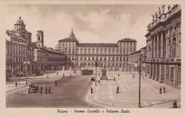 Italy Torino Piazza Castello e Palazzo Reale