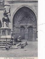 Switzerland Bern Erlachdenkmal und Muensterportal