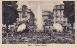 Italy Torino Fontana Angelica