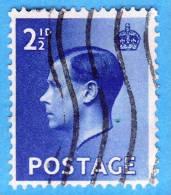 GB  UK GRAN BRETAGNA - 1936 - Re Edward VIII - 2 - Usati
