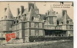 CPA 03 ENVIRONS DE VICHY CHATEAU DE RANDAN 1914 - Vichy