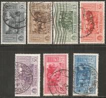 Italia Regno 1932 Usato - Ss.315/21  Garibaldi  7v - 1900-44 Vittorio Emanuele III