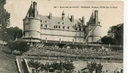 CPA 03 ENVIRONS DE VICHY CHATEAU DE RANDAN COTE DES JARDINS 1911 - Vichy