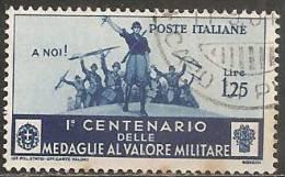 Italia Regno 1934 Usato - Ss. 373   £ 1,25 - Usati