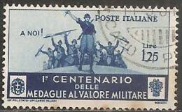 Italia Regno 1934 Usato - Ss. 373   £ 1,25 - 1900-44 Vittorio Emanuele III