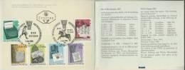 AUSTRIA/OSTERREICH, 1965 P.C. WIPA'85-Vienna International Postage Stamp Exhibition - Exposiciones Filatélicas