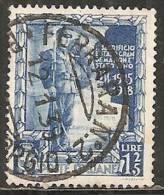 Italia Regno 1938 Usato - Ss. 436/37 Marconi + 445 Impero £ 1,25 - 1900-44 Vittorio Emanuele III