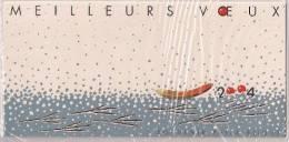 2003 FRANCE  Yv. BF  65 Mi. Bl. 35** MNH AVEC SA CARTE DE PRESENTATION MEILLEURS VOEUX 200 - Blocs & Feuillets