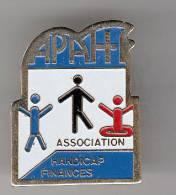 Pin´s - APAH - Association Handicap Finances - Associations