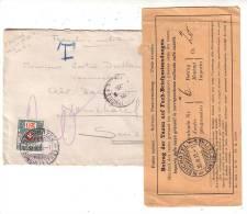 Lettre Militaitre France-Suisse Taxée à Neuchâtel (30315) - Suisse