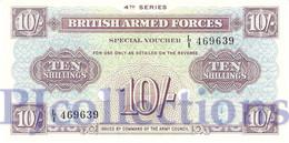 GREAT BRITAIN 10 SHILLINGS ND PICK M35b UNC - 1952-… : Elizabeth II