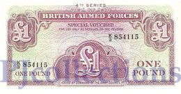 GREAT BRITAIN 1 POUND ND PICK M36a UNC - 1952-… : Elizabeth II