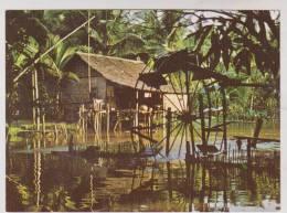 CPM LE MONDE D ANKOR, HABITATION CAMBODGIENNE - Cambodia