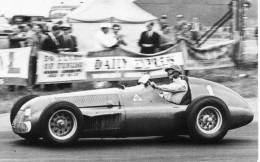 Dr Giuseppe Farina  -  Alfa Romeo Tipo 159     -   British  Grand Prix  -  1951 - Non Classés