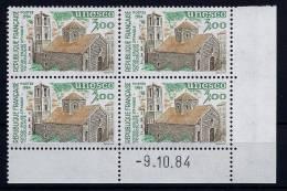 """Coins Datés Service YT 81 """" UNESCO  3F00 """" 1984 Neuf ** - Dienstpost"""