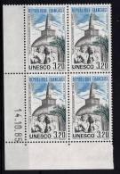 "FR Coins Datés Service YT 90 "" UNESCO 3F20 "" Neuf ** Du 14.10.85 - Dienstpost"