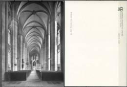Ak Deutschland - Marburg  - Elisabethkirche,church,Eg Lise - Mittelschiff Von Westen - Eglises Et Cathédrales