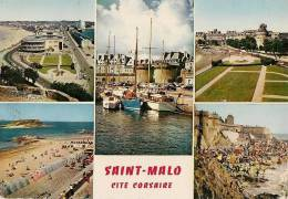 CPA-1965-35-ST MALO-MULTIVUES-TBE - Saint Malo