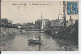 BLAYE - Le Chenal à Marée Basse - Blaye